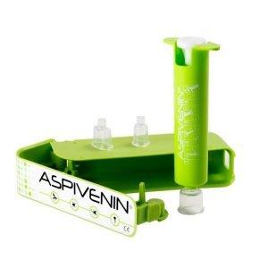 Aspivenin uitzuigpompje open