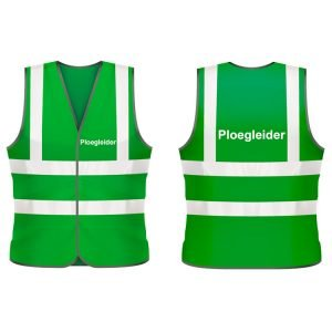 Ploegleider veiligheidshesje (groen)