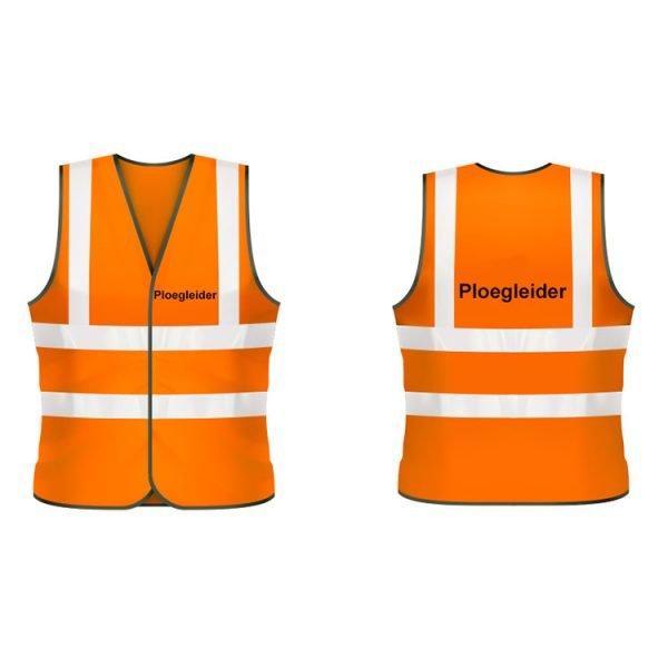 Ploegleider veiligheidshesje (oranje)