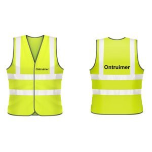 Ontruimer veiligheidshesje (geel)