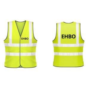 EHBO hesje (geel)
