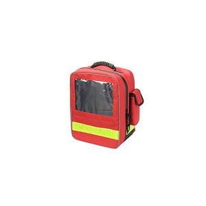 De losse etuis in de EHBO rugtas kunt u eruit halen en vervangen door de AED.