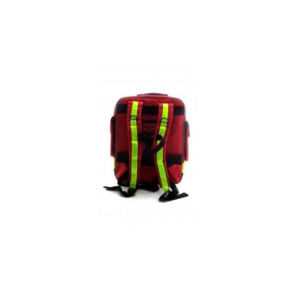 EHBO Rugtas (Rood) achterkant