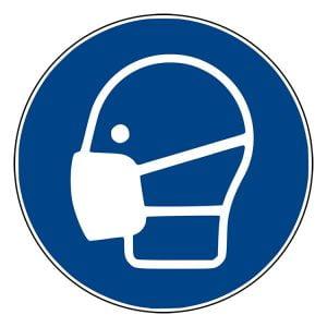 Pictogram bord Stofmasker NEN EN ISO 7010