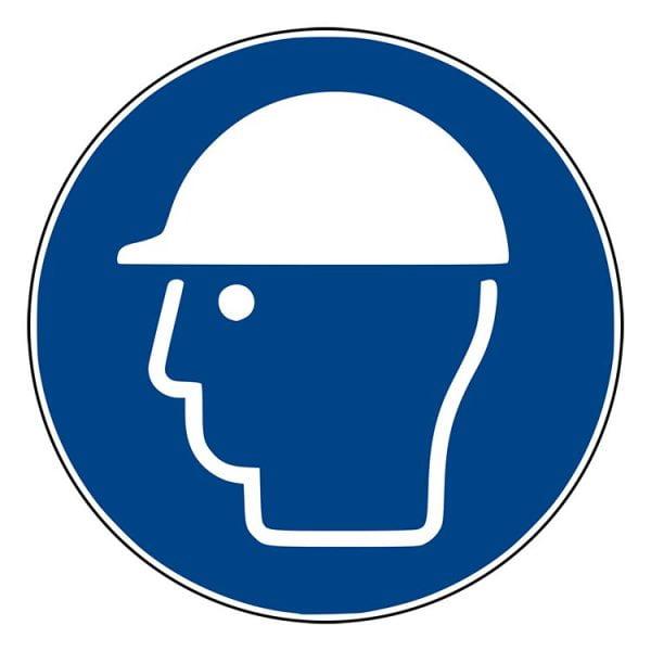 Pictogram bord Veiligheidshelm NEN EN ISO 7010