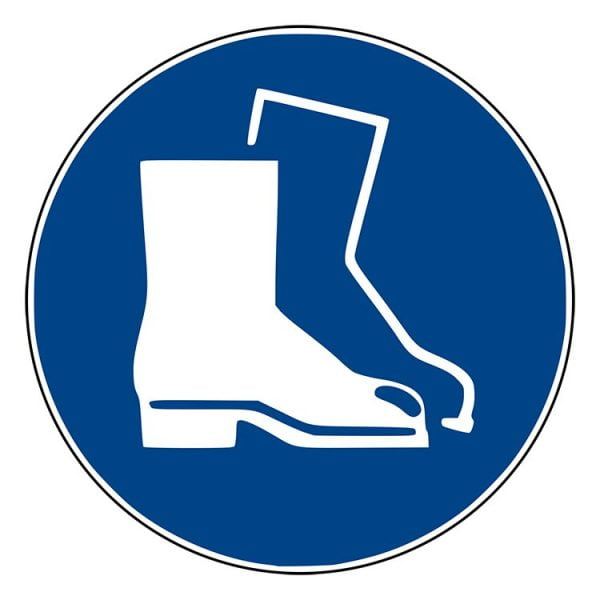 Pictogram bord Veiligheidsschoenen NEN EN ISO 7010
