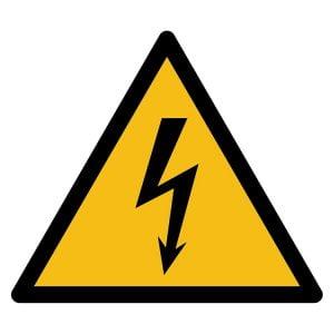 Pictogram bord waarschuwing Elektriciteit NEN EN ISO 7010