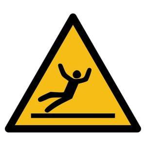 Pictogram bord waarschuwing Gevaar Uitglijden NEN EN ISO 7010