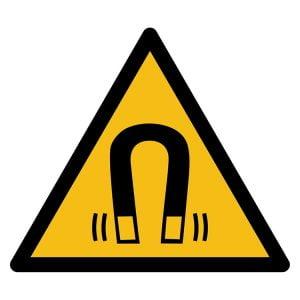 Pictogram bord waarschuwing Magnetisch veld NEN EN ISO 7010
