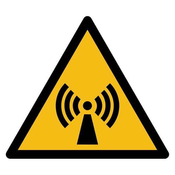 Pictogram bord waarschuwing Niet Ioniserende straling NEN EN ISO 7010