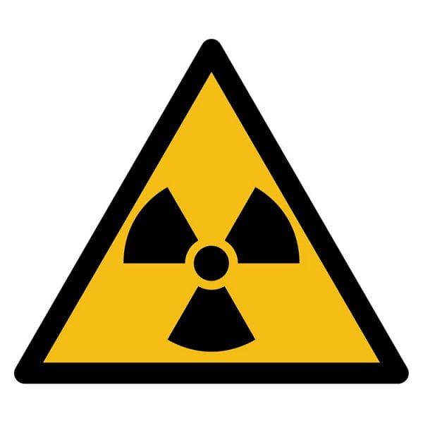 Pictogram bord waarschuwing Radioactieve Stoffen NEN EN ISO 7010