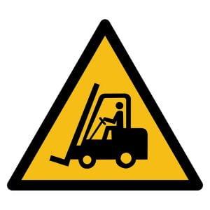 Pictogram bord waarschuwing Voertuigen NEN EN ISO 7010