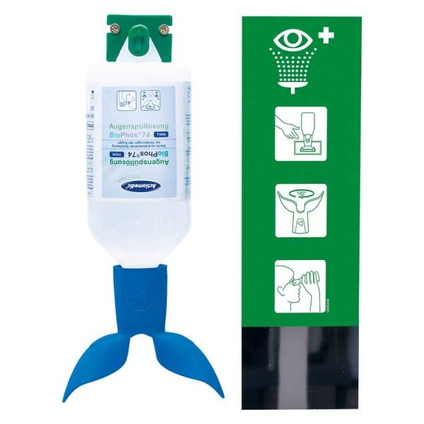ACTIOMEDIC EYE CARE OOGSPOELSTATION TWIN SINGLE BIOPHOS74 PH NEUTRAAL 500ML