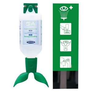 ACTIOMEDIC EYE CARE OOGSPOELSTATION TWIN SINGLE MET SODIUM CHLORIDE 0,9� 500ML