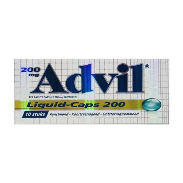 Advil Liquid caps