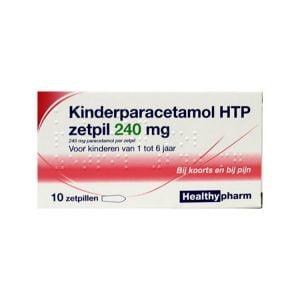 Kinderparacetamol zetpil 240mg