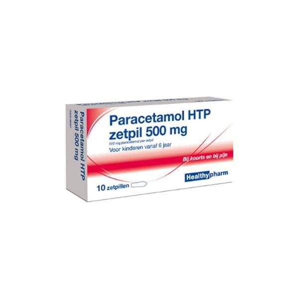 Paracetamol Zetpil 500 mg