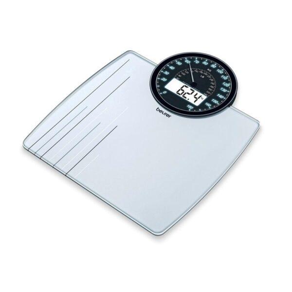 Beurer Personenweegschaal digitaal & analoog GS58 (tot 180 kg)