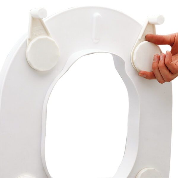 Etac Hi-Loo toiletverhoger montage