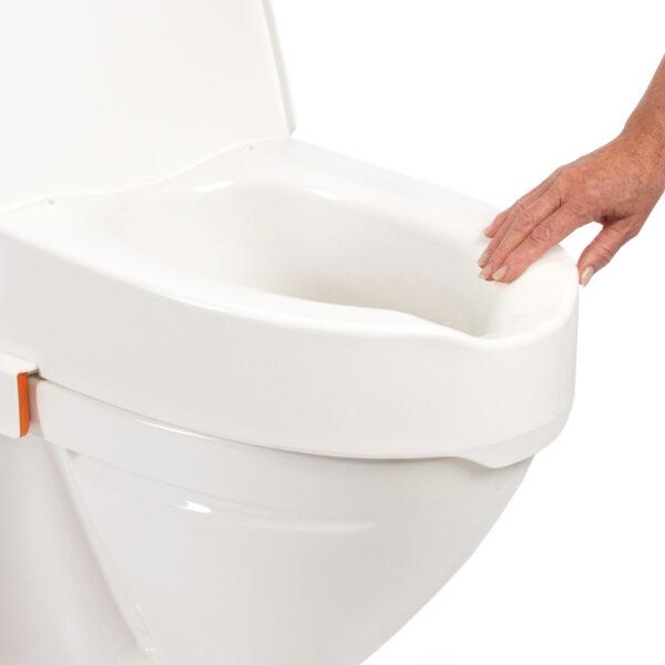 Etac My-Loo toiletverhoger incl deksel montage
