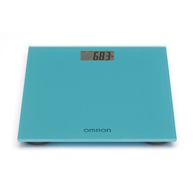 Omron personenweegschaal Blauw (tot 150 kg)