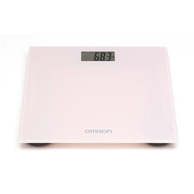 Omron personenweegschaal Roze (tot 150 kg)