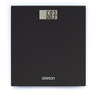 Omron personenweegschaal Zwart (tot 150 kg)