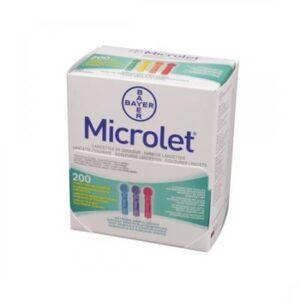 Contour XT Microlet Lancetten gekleurd 200 stuks