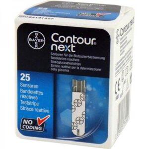 Contour XT Next Teststrips 25 stuks