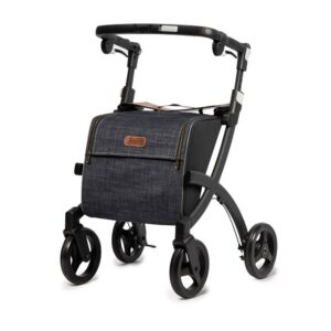 Rollator Rollz Flex Black Denim M