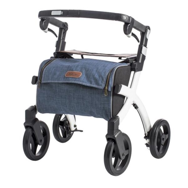 Rollator Rollz Flex White Denim S