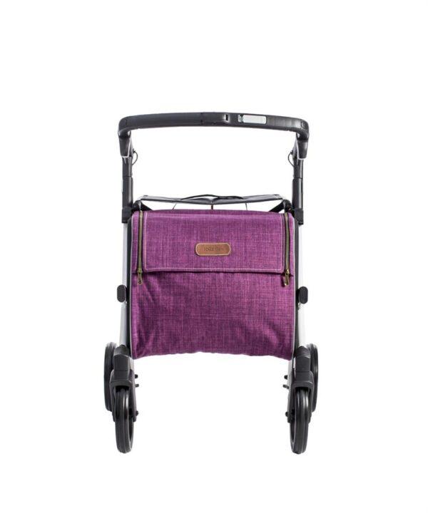 Rollator Rollz Flex White Purple M