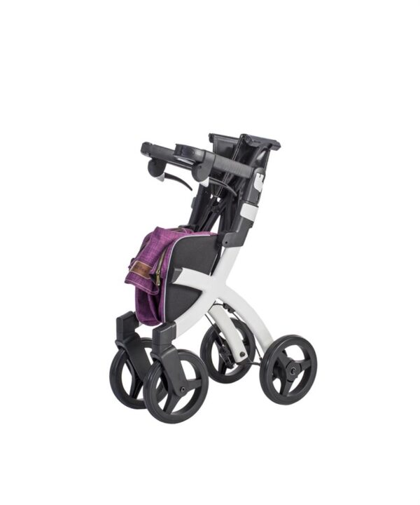 Rollator Rollz Flex White Purple S