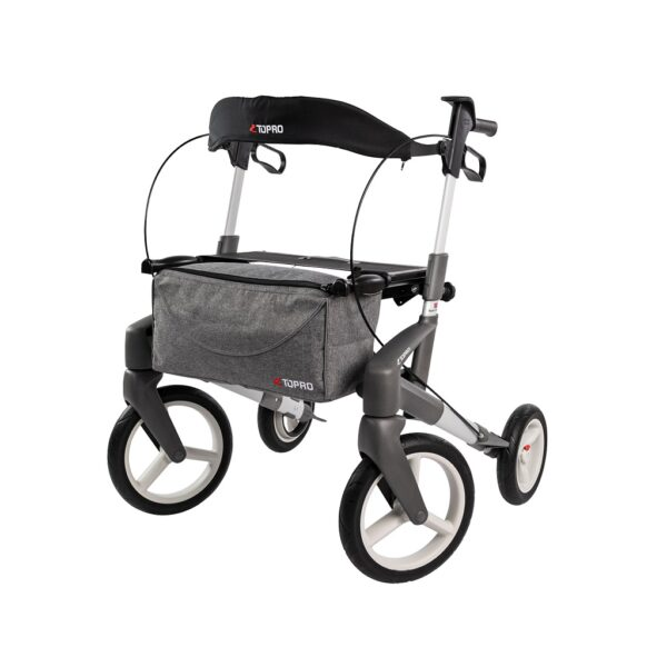 Rollator Topro Olympos Zilver