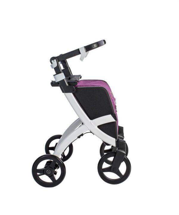 Rollator Rollz Flex met fliprem Purple
