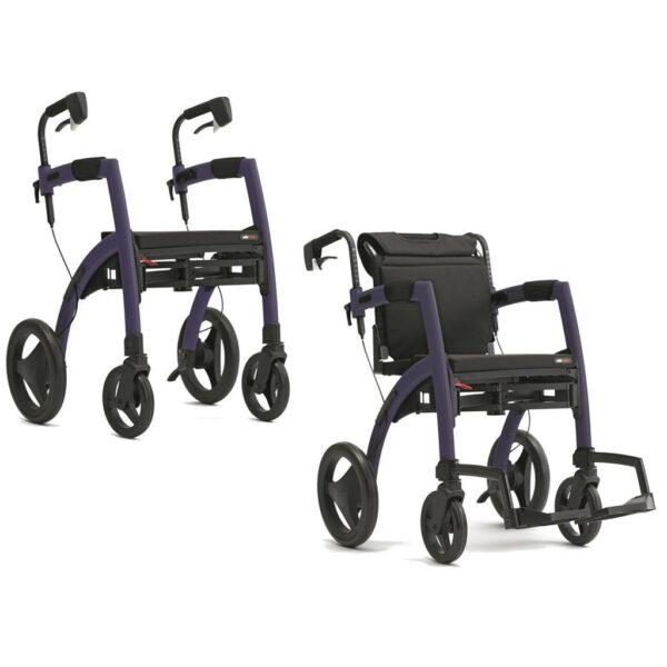 Rollator Rollz Motion 2 Dark Purple