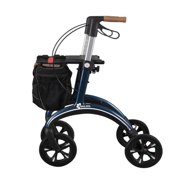 Rollator SALJOL Carbon Blauw